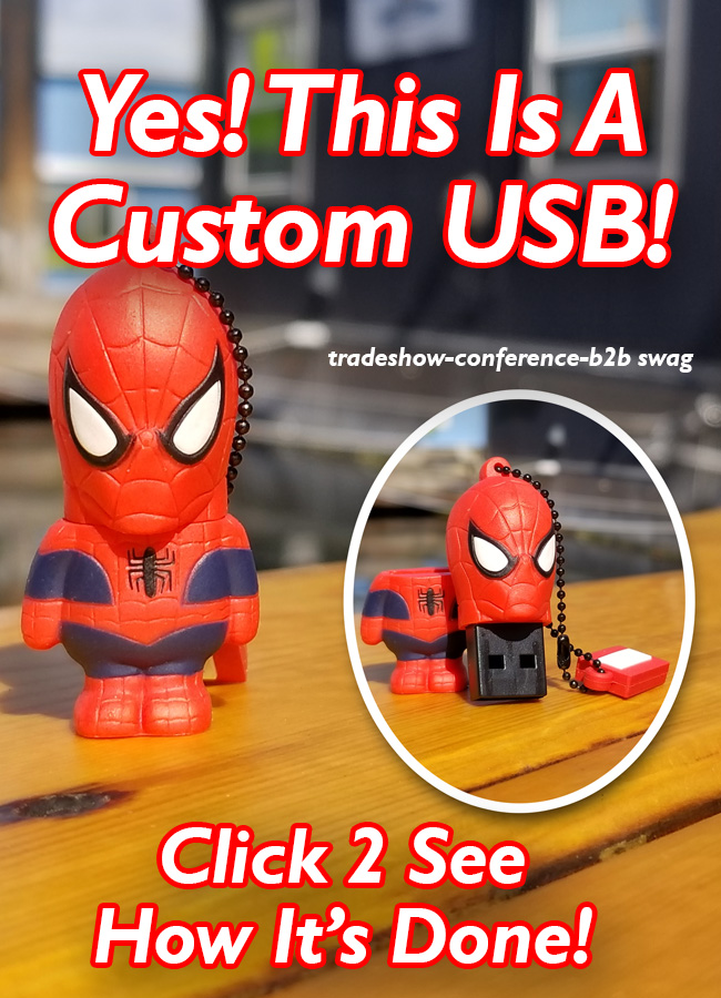 spiderman custom shaped usb flash drive for marketing