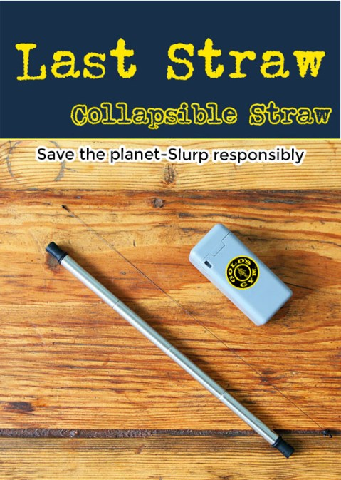 last straw folding collapsible straw for sale now. Wholesale bulk promotional orders