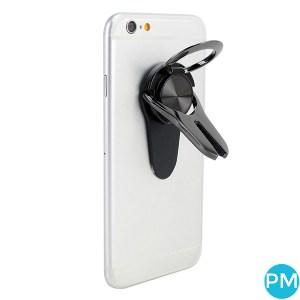 car vent grip phone holder black