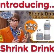shrink drink water bottle