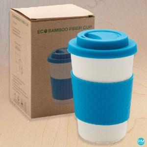 bamboo fiber reusable coffee cups