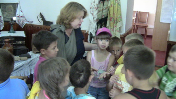 про Морозовск Музей Дети