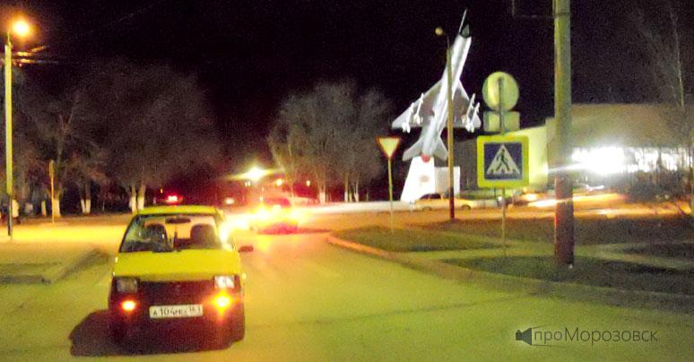 ДТП в Морозовске, Ростовская область 8 декабря. проМороозовск