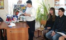 Студенты избиратели в Морозовском техникуме. Ростовская область