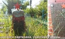 Морозовское бесхозное кладбище, могила Вышкварцева