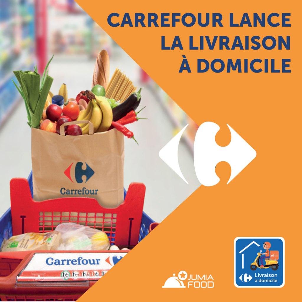 Carrefour Algérie se lance dans la livraison à domicile