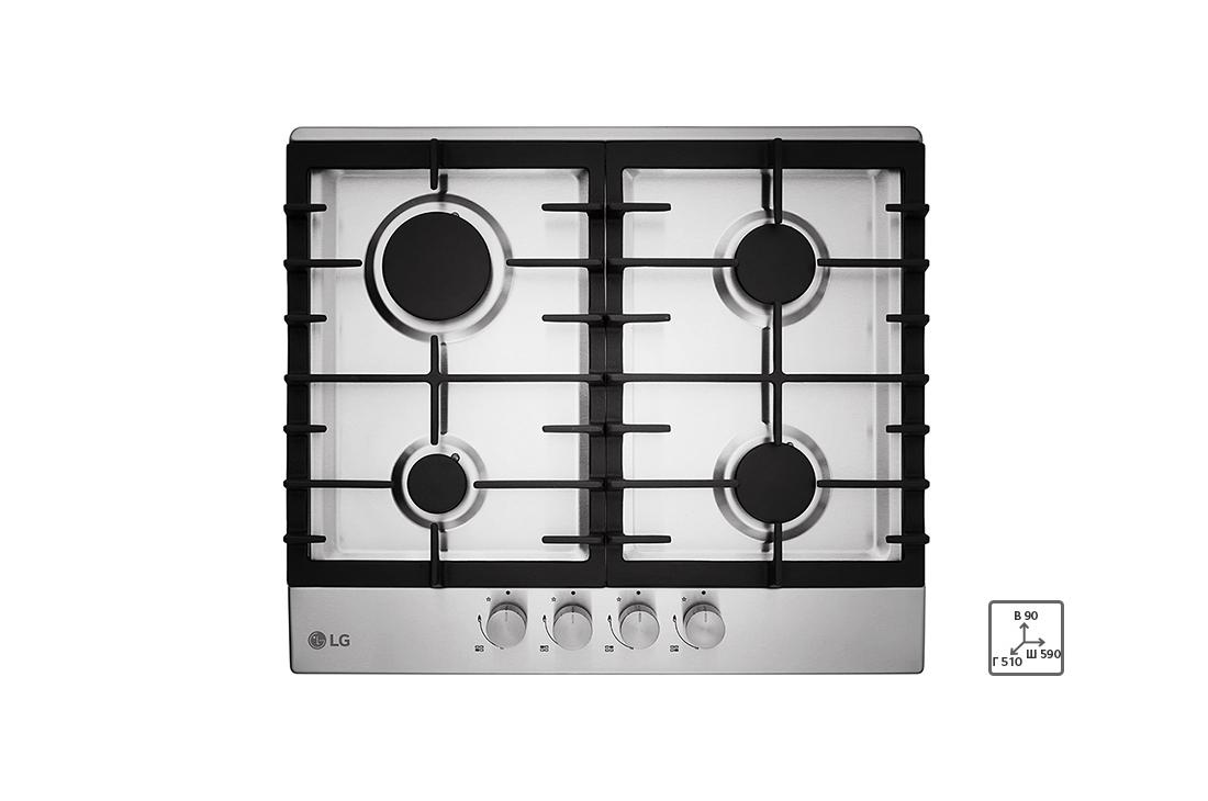 Plaque de cuisson intégrée à gaz HU641BAG – LG Algérie