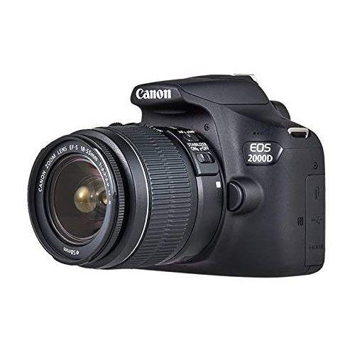Promo : Canon Eos 2000D Numérique – Noir