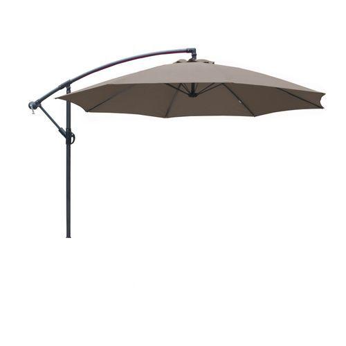 Promo : Parasol déporté orient taupe