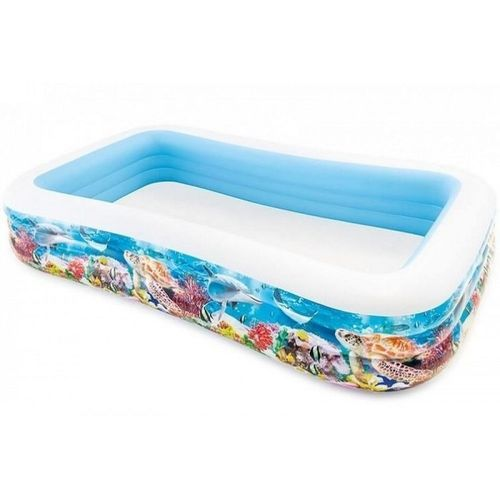 PROMO : Intex piscine gonflable poisson famille