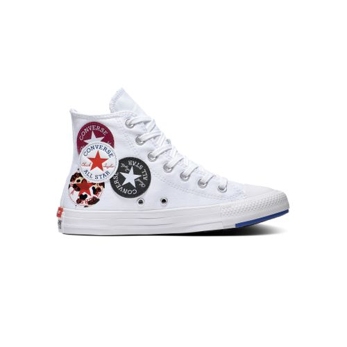 Promo : Converse chaussure montante Chuck Taylor All Star Hi unisexe – Blanc