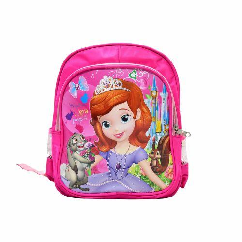 Spécial rentrée scolaire : Sac à dos double compartiment Princesse Sofia – Rose
