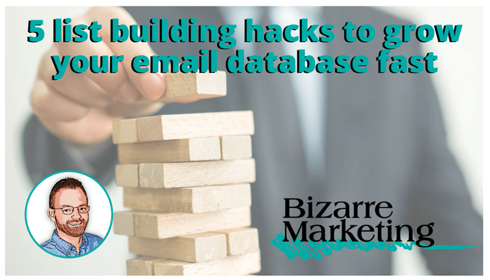 Email List building Hacks