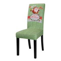 Christmas Elf Chair Covers Lifetime Folding Parts Snagshout Stretch Dining Set Of 2