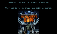 HUMANITY'S HOPE