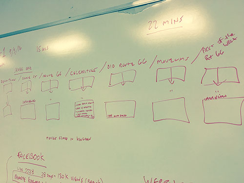 Story board creation with Jim Hinckley