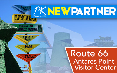 NEW PARTNER -Route 66 Antares Point Visitor Center