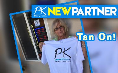 NEW PARTNER -Tan On!