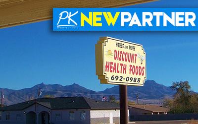 NEW PARTNER: Herbs & More Discount Health Foods