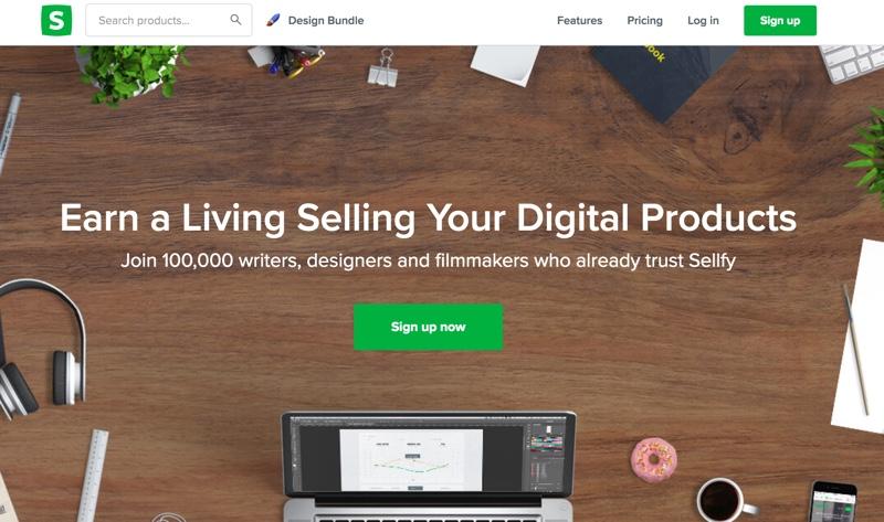 sellfy digital platform review