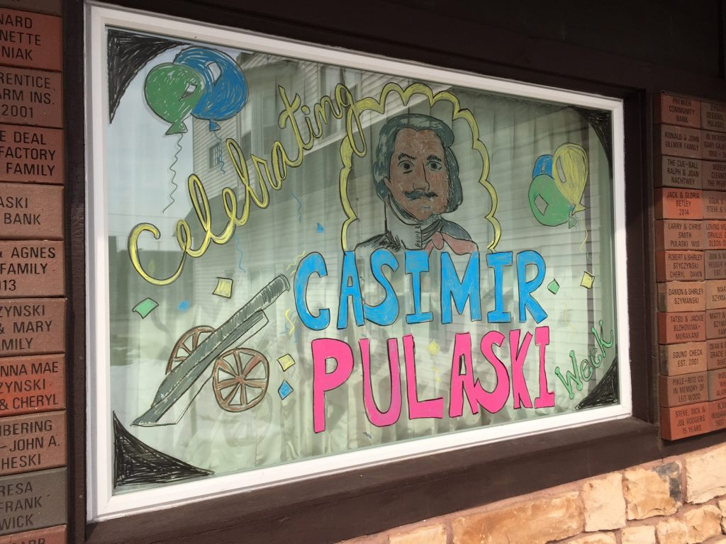 Casimir Pulaski Days Window Decorating Contest