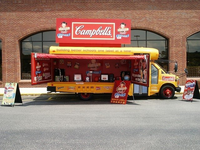 Case Studies - Campbell's Labels for Education Bus Mobile Tour (8)