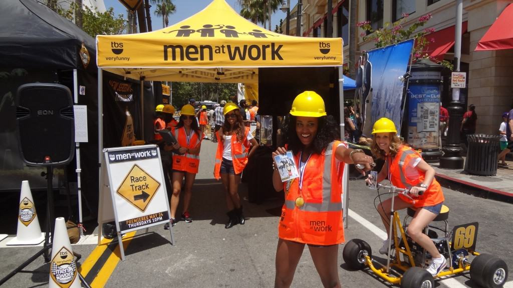 Los Angeles Experiential Marketing Campaign: TBS Men At Work TV Series