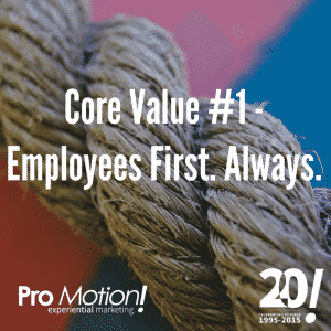 Employees First. Always