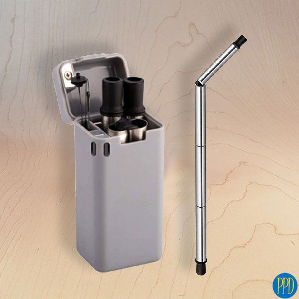 folding stainless steel drinking straw