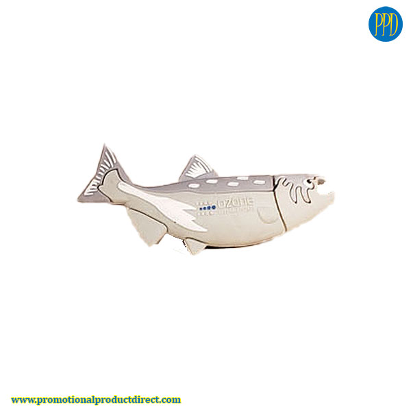 fish custom shaped 3D flash drive USB