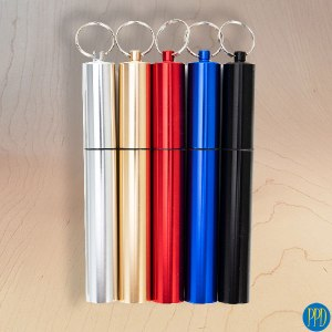 telescoping reusable drinking straw promotional product direct