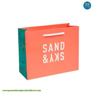 custom retail bags for promotional business marketing full color logo