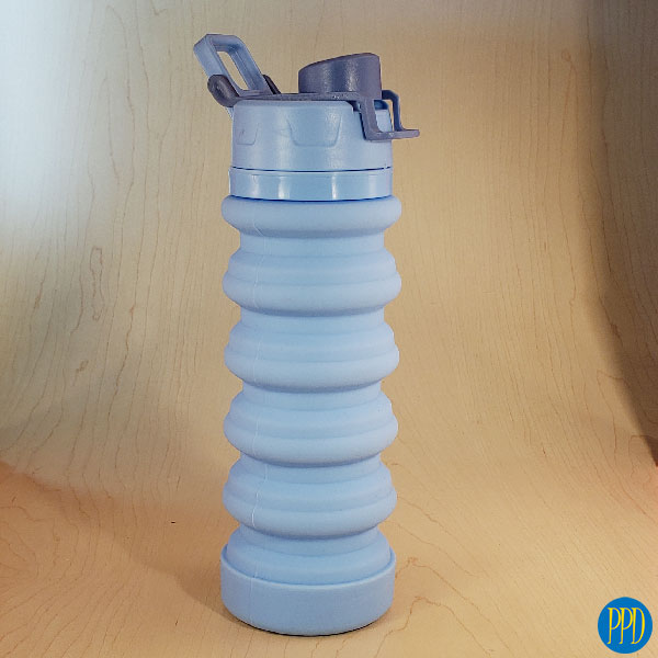 Pare Silicone Folding Water Bottle The take anywhere collapsible silicone water bottle. Packable, collapsible silicone water bottle. Free Shipping.