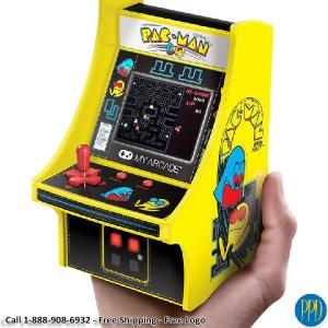 retro 1980's video game pacman
