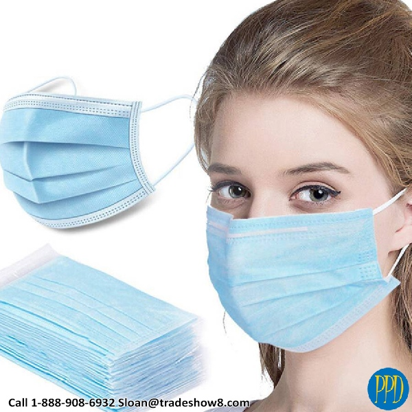3 ply virus protection mask
