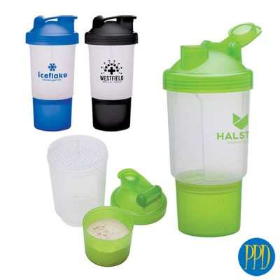 Protein storage shaker cup