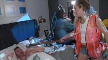 Miley Cyrus Crashes Jimmy Kimmel' Sleep Wrecking Ball
