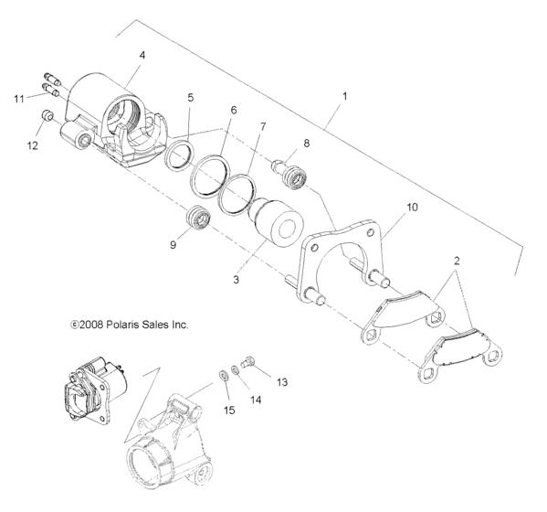 Оригинальные запчасти для квадроциклов ATV Polaris