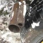 паровозный тормоз на самодельный прицеп к мотоблоку