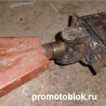 прицепное с крестовины карданного вала самодельный прицеп к мотоблоку Мотор Сич 5