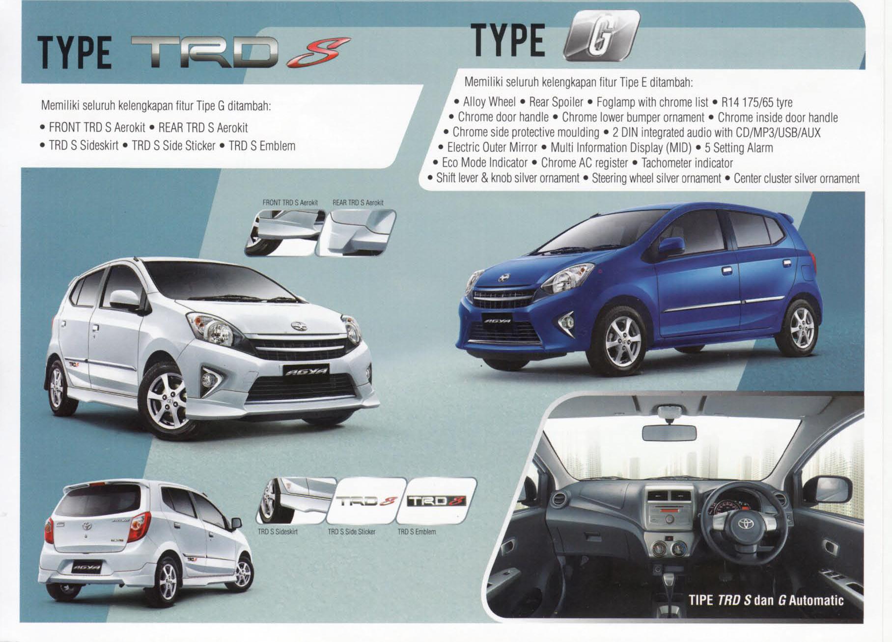 review new agya trd 2018 all camry 2019 indonesia spesifikasi tipe agustus 2015