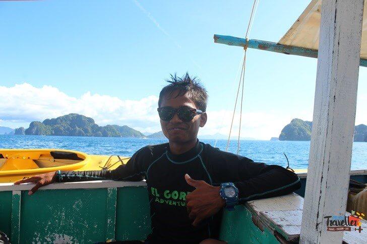 El Nido Beach - Captain, El Gordon adventures