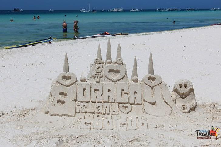 Boracay Island - Beach Castle