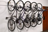 wall hung mountain bike storage
