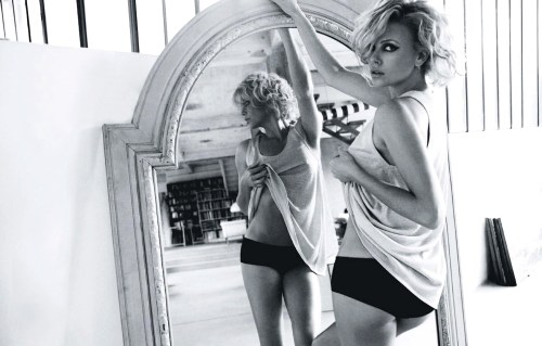 Charlize Theron, Elle Magazine Russia, September 2010