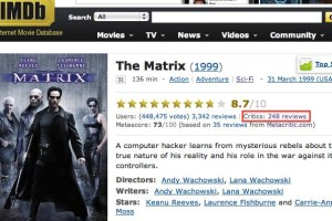 IMDb External Reviews, 01