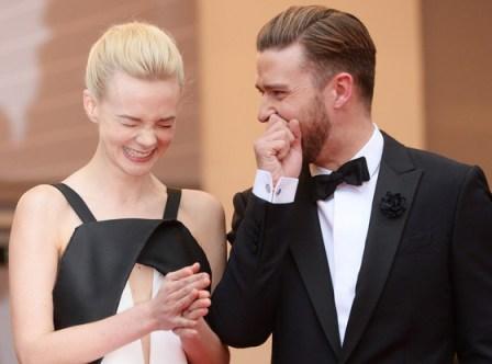 Justin Timberlake Carey Mulligan Smiling
