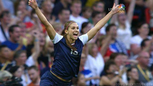 Alexandra Morgan Soccer Cheering