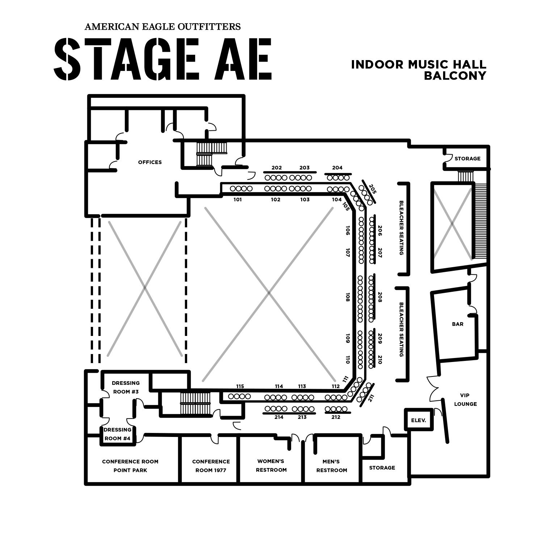 Venue Rental – Stage AE
