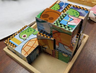 Puzzle blocks (Photo © 2016 by V. Nesdoly)